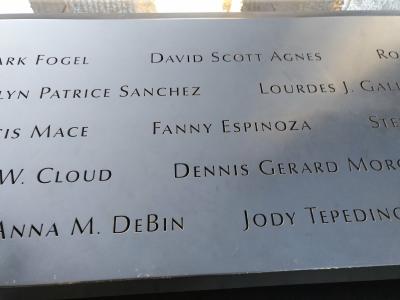 Fallecidos en el atentado del 11-S