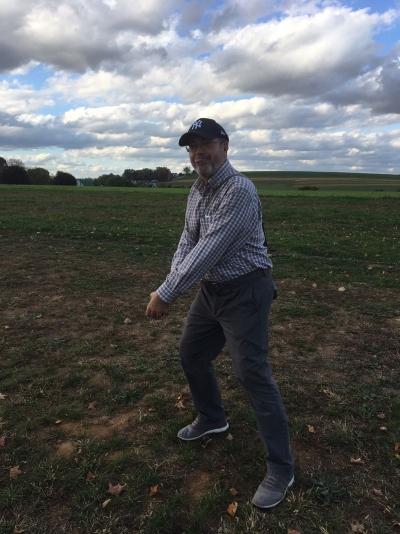 Haciendo de Joe Dimaggio en tierra de los Amish