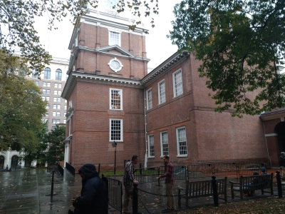 La Independence Hall de Filadelfia